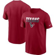 Wholesale Cheap Houston Texans Nike Split T-Shirt Red