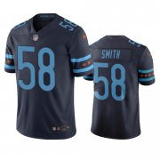 Wholesale Cheap Chicago Bears #58 Roquan Smith Navy Vapor Limited City Edition NFL Jersey