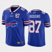 Wholesale Cheap Buffalo Bills #87 Isaiah Hodgins Royal Blue Men's Nike Big Team Logo Player Vapor Limited NFL Jersey