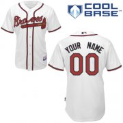 Wholesale Cheap Braves Personalized Authentic White MLB Jersey (S-3XL)