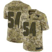 Wholesale Cheap Nike Patriots #54 Dont'a Hightower Camo Men's Stitched NFL Limited 2018 Salute To Service Jersey
