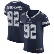 Wholesale Cheap Nike Cowboys #92 Dorance Armstrong Navy Blue Team Color Men's Stitched NFL Vapor Untouchable Elite Jersey