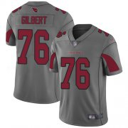Wholesale Cheap Nike Cardinals #76 Marcus Gilbert Silver Men's Stitched NFL Limited Inverted Legend Jersey
