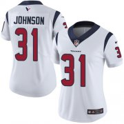 Wholesale Cheap Nike Texans #31 David Johnson White Women's Stitched NFL Vapor Untouchable Limited Jersey