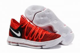 Wholesale Cheap Nike KD 10 Shoes University Red