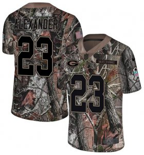 Wholesale Cheap Nike Packers #23 Jaire Alexander Camo Men\'s Stitched NFL Limited Rush Realtree Jersey