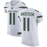 Wholesale Cheap Nike Jets #11 Robby Anderson White Men's Stitched NFL Vapor Untouchable Elite Jersey