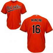 Wholesale Cheap Orioles #16 Trey Mancini Orange New Cool Base Stitched MLB Jersey