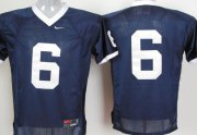 Wholesale Cheap Penn State Nittany Lions #6 Navy Blue Jersey