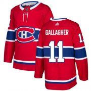 Wholesale Cheap Adidas Canadiens #11 Brendan Gallagher Red Home Authentic Stitched Youth NHL Jersey