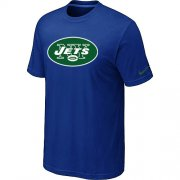 Wholesale Cheap Nike New York Jets Sideline Legend Authentic Logo Dri-FIT NFL T-Shirt Blue