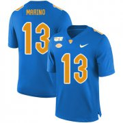 Wholesale Cheap Pittsburgh Panthers 13 Dan Marino Blue 150th Anniversary Patch Nike College Football Jersey