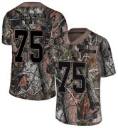 Wholesale Cheap Nike Saints #75 Andrus Peat Camo Youth Stitched NFL Limited Rush Realtree Jersey