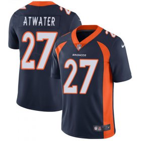 Wholesale Cheap Nike Broncos #27 Steve Atwater Blue Alternate Youth Stitched NFL Vapor Untouchable Limited Jersey