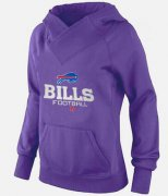 Wholesale Cheap Women's Buffalo Bills Big & Tall Critical Victory Pullover Hoodie Purple