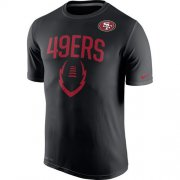 Wholesale Cheap San Francisco 49ers Nike Legend Icon Performance T-Shirt Black