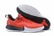 Wholesale Cheap Nike Kobe Mamba Focus 5 Shoes Red Black White