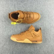 Wholesale Cheap Air Jordan 4 Premium Wheat Ginger/Gum-Yellow