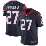 Wholesale Cheap Nike Texans #27 Duke Johnson Jr Navy Blue Team Color Youth Stitched NFL Vapor Untouchable Limited Jersey