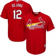 Wholesale Cheap Cardinals #12 Paul DeJong Red New Cool Base Stitched MLB Jersey