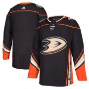 Wholesale Cheap Adidas Ducks Blank Black Home Authentic Stitched NHL Jersey
