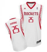 Wholesale Cheap Houston Rockets #25 Chandler Parsons White Swingman Jersey
