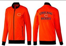 Wholesale NFL Chicago Bears Heart Jacket Red