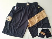 Wholesale Cheap Men's Toronto Raptors Black Nike Swingman Shorts