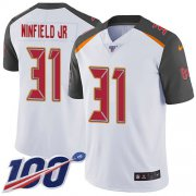 Wholesale Cheap Nike Buccaneers #31 Antoine Winfield Jr. White Youth Stitched NFL 100th Season Vapor Untouchable Limited Jersey