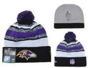 Wholesale Cheap Baltimore Ravens Beanies YD005