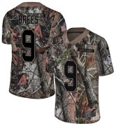 Wholesale Cheap Nike Saints #9 Drew Brees Camo Men's Stitched NFL Limited Rush Realtree Jersey