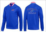 Wholesale Cheap NFL Buffalo Bills Heart Jacket Blue_1