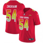 Wholesale Cheap Nike Chargers #54 Melvin Ingram Red Men's Stitched NFL Limited AFC 2019 Pro Bowl Jersey