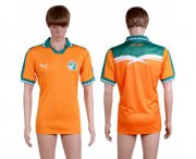 Wholesale Cheap Cote d'lvoire Blank Home Soccer Country Jersey