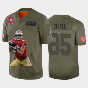 Cheap San Francisco 49ers #85 George Kittle Nike Team Hero 3 Vapor Limited NFL Jersey Camo