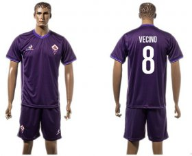 Wholesale Cheap Florence #8 Vecino Home Soccer Club Jersey