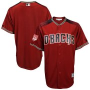 Wholesale Cheap Diamondbacks Blank Blue 2019 Spring Training Cool Base Stitched MLB Jersey