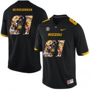 Wholesale Cheap Missouri Tigers 81 Albert Okwuegbunam Black Nike Fashion College Football Jersey