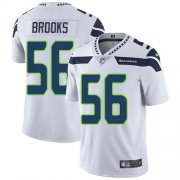Wholesale Cheap Nike Seahawks #56 Jordyn Brooks White Men's Stitched NFL Vapor Untouchable Limited Jersey