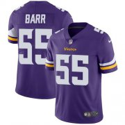 Wholesale Cheap Nike Vikings #55 Anthony Barr Purple Team Color Youth Stitched NFL Vapor Untouchable Limited Jersey