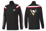 Wholesale NHL Pittsburgh Penguins Zip Jackets Black-2
