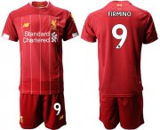 Wholesale Cheap Liverpool #9 Firmino Red Home Soccer Club Jersey