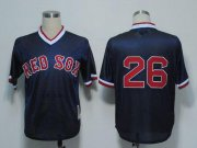 Wholesale Cheap Mitchell And Ness 1991 Red Sox #26 Wade Boggs Dark Blue Stitched Throwback MLB Jersey