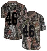 Wholesale Cheap Nike Patriots #46 James Develin Camo Youth Stitched NFL Limited Rush Realtree Jersey