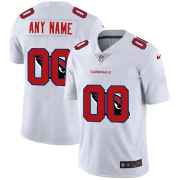Wholesale Cheap Arizona Cardinals Custom White Men's Nike Team Logo Dual Overlap Limited NFL Jersey