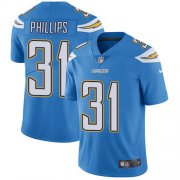Wholesale Cheap Nike Chargers #31 Adrian Phillips Electric Blue Alternate Men's Stitched NFL Vapor Untouchable Limited Jersey