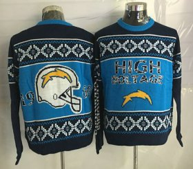 Wholesale Cheap Nike Chargers Men\'s Ugly Sweater