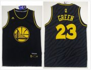 Wholesale Cheap Golden State Warriors #23 Draymond Green Black Precious Metals Fashion Stitched NBA Jersey