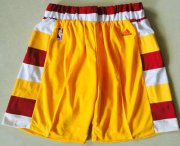 Wholesale Cheap Men's Cleveland Cavaliers Gold Throwback Short