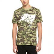 Wholesale Cheap Men's Tampa Bay Buccaneers '47 Camo Alpha T-Shirt